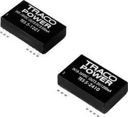 Convertisseur CC/CC CMS TracoPower TES 5-2422 24 V/DC 12 V/DC, -12 V/DC 125 mA 5 W Nbr. de sorties: 2 x 1 pc(s)