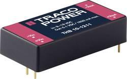 TracoPower THB 10-4812 Convertisseur CC/CC pour circuits imprimés 48 V/DC