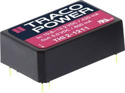 Convertisseur CC/CC pour circuits imprimés TracoPower THI 2420 24 V/DC 5 V/DC, -5 V/DC 100 mA 2 W Nbr. de sorties: 2 x 1