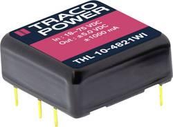 Convertisseur CC/CC pour circuits imprimés TracoPower THL 10-4812WI 48 V/DC 12 V/DC 830 mA 10 W Nbr. de sorties: 1 x 1 p