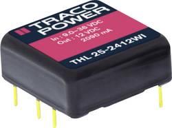 TracoPower THL 25-4812WI Convertisseur CC/CC pour circuits imprimés 48 V/DC