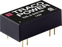 Convertisseur CC/CC pour circuits imprimés TracoPower THL 3-4822WI 48 V/DC 12 V/DC, -12 V/DC 125 mA 3 W Nbr. de sorties:
