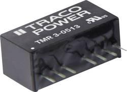 Convertisseur CC/CC pour circuits imprimés TracoPower TMR 3-4810 48 V/DC 3.3 V/DC 700 mA 3 W Nbr. de sorties: 1 x 1 pc(s