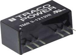 Convertisseur CC/CC pour circuits imprimés TracoPower TMR 3-4822HI 48 V/DC 12 V/DC, -12 V/DC 500 mA 3 W Nbr. de sorties: