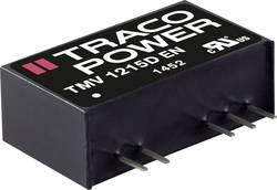 Convertisseur CC/CC pour circuits imprimés TracoPower TMV 1212S 12 V/DC 12 V/DC 84 mA 1 W Nbr. de sorties: 1 x 1 pc(s)