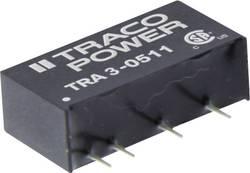 Convertisseur CC/CC pour circuits imprimés TracoPower TRA 3-0511 5 V/DC 5 V/DC 600 mA 3 W Nbr. de sorties: 1 x 1 pc(s)