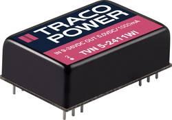 Convertisseur CC/CC pour circuits imprimés TracoPower TVN 5-4821WI 48 V/DC 5 V/DC, -5 V/DC 500 mA 5 W Nbr. de sorties: 2