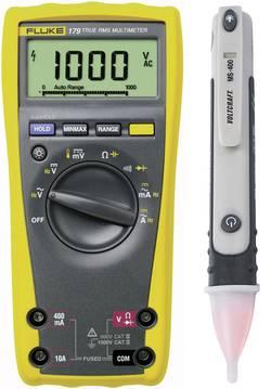 Multimètre Fluke 1592842 numérique Etalonné selon: d'usine (sans certificat) CAT III 1000 V, CAT IV 600 V Affichage (n
