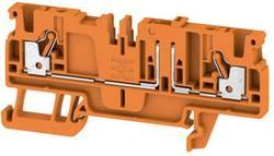 Bloc de jonction de test sectionnable Weidmüller ADT 2.5 2C OR 1989820000 orange 50 pc(s)