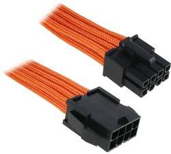Câble rallonge alimentation carte mère Bitfenix - [1x EPS mâle 8 pôles - 1x EPS femelle 8 pôles] - 45 cm - orange, noir