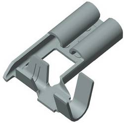 Cosse clip 4.8 mm x 0.5 mm Vogt Verbindungstechnik 380205.67 0.50 mm² 1 mm² non isolé métal 1 pc(s)
