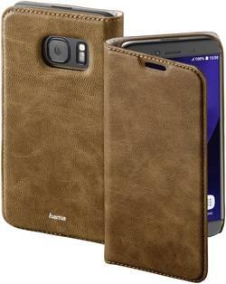 Etui porte-feuilles Hama Guard Case Adapté pour: Samsung Galaxy S7 marron
