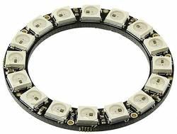 Module d'extension NeoPixel Ring - 16 x 5050 RGB LED Adafruit 1463