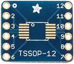 Platine SMT-Breakout pour SOIC-12 ou TSSOP-12, lot de 6