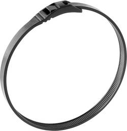 Serre-câbles Norma 08600520350 350 mm noir avec design de la tête arrondi, résistance moyenne à la traction 1 pc(s)