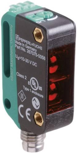 Barrière photoélectrique laser de réflexion Pepperl & Fuchs OBR12M-R100-2EP-IO-V31-L commutation en réception, commutat