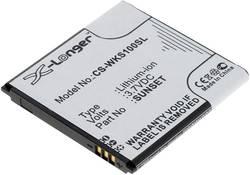 Batterie pour téléphone portable Goobay 71977 Adapté pour: Wiko Sunset 1200 mAh