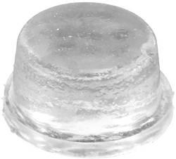 Pied d'appareil anti-dérapant, autocollant, rond noir (Ø x h) 12.7 mm x 3.5 mm 1 pc(s)
