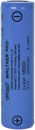 Accu de rechange Walther P L 70 Convient pour: 1521688