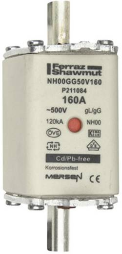 Fusible NH Mersen 1B769.000000 Taille du fusible=00 160 A 500 V 1 pc(s)