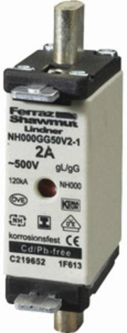 Fusible NH Mersen G201187H 1F645.000000 Taille du fusible=000 35 A 500 V
