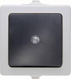 Bouton-poussoir Kopp 566356003 Nautic gris