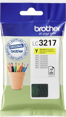 Brother Encre LC-3217Y d'origine jaune LC3217Y