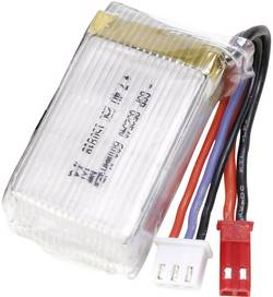 Batterie d'accumulateurs (LiPo) 7.4 V 600 mAh Conrad energy 25 C stick BEC