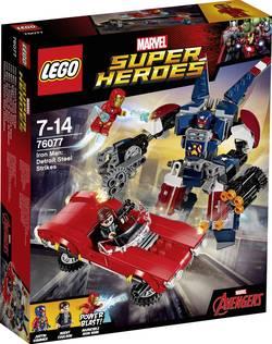 Iron Man contre Detroit Steel LEGO® MARVEL SUPER HEROES 76077 Nombre de LEGO (pièces)377