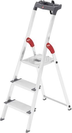 Escabeau aluminium Hailo ProfiLine S 150 XXL 8813-027 pliable, plateau porte-outils inclus Hauteur de travail (max.): 2.