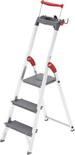 Escabeau aluminium Hailo ProfiLine S 225 XXR 8893-027 pliable, plateau porte-outils inclus Hauteur de travail (max.): 2.
