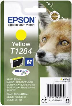 Cartouche d'encre Epson T1284 jaune C13T12844012