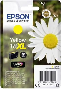 Cartouche d'encre Epson T1814, 18XL jaune C13T18144012
