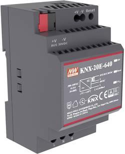 Alimentation rail DIN Mean Well KNX-20E-640 30 V/DC 640 mA 19.2 W 1 x 1 pc(s)