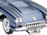 Kit modèle réduit de voiture Corvette Roadster 58