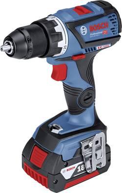 Perceuse-visseuse à percussion sans fil Bosch Professional 06019G2101 18 V 5 Ah Li-Ion + 2 batteries, + mallette, + modu