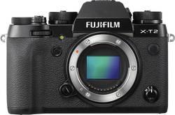 Appareil photo hybride Fujifilm X-T2 24.3 MPix noir vidéo 4k, WiFi, écran pivotable, sabot pour flash