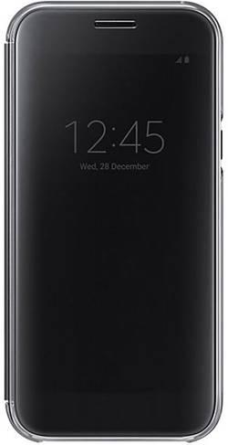 Coque avec rabat Samsung Clear View Cover EF-ZA520 Adapté pour: Samsung Galaxy A5 (2017) noir