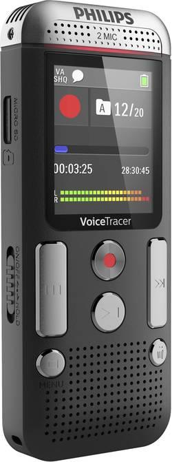 Dictaphone numérique Philips DVT2510 Durée d'enregistrement (max.) 2280 h anthracite