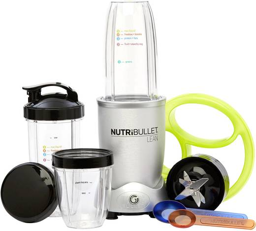 appareil smoothie nutribullet lean 1200 w argent. Black Bedroom Furniture Sets. Home Design Ideas