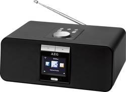 Radio de bureau AEG IR 4468 BT USB fonction de charge de la batterie noir