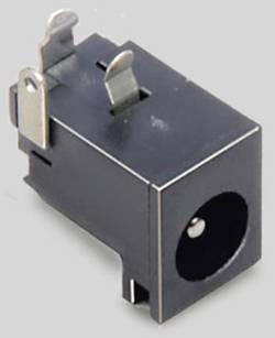 Fiche d'alimentation DC embase femelle horizontale 6.3 mm 2.5 m