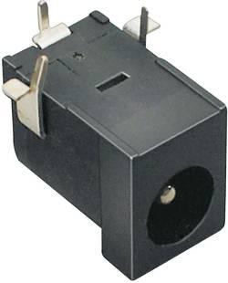 TRU COMPONENTS Fiche d'alimentation DC embase femelle horizontale 6.3 mm 2.1 mm 1 pc(s)
