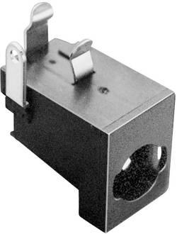 TRU COMPONENTS Fiche d'alimentation DC embase femelle horizontale 5.85 mm 2.5 mm 1 pc(s)