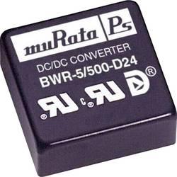 Convertisseur CC/CC pour circuits imprimés Murata Power Solutions BWR-5/500-D24-C +5 V, -5 V 500 mA 5 W Nbr. de sorties