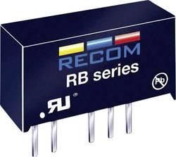 Convertisseur CC/CC pour circuits imprimés RECOM RB-0515S 15 V 66 mA 1 W Nbr. de sorties: 1 x 1 pc(s)