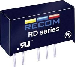 Convertisseur CC/CC pour circuits imprimés RECOM RD-1205D +5 V, -5 V 200 mA 2 W Nbr. de sorties: 2 x 1 pc(s)