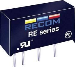 Convertisseur CC/CC pour circuits imprimés RECOM RE-1212S 12 V 83 mA 1 W Nbr. de sorties: 1 x 1 pc(s)