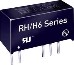RECOM RK-2412S/H6 Convertisseur CC/CC pour circuits imprimés 12