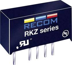 Convertisseur CC/CC pour circuits imprimés RECOM RKZ-1212D +12 V, -12 V 84 mA 2 W Nbr. de sorties: 2 x 1 pc(s)
